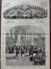 L'UNIVERS ILLUSTRE 1880 N 1304  Me de FREYCINET et JULES FERRY, GRANDE RECEPTION