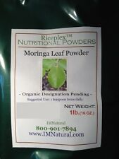 100% Pure Moringa Leaf Powder - 1 lbs Resealable bag