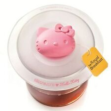 SiliconeZone Hello Kitty Silicone Tea Cup Lid - Tea Bag Squeezer