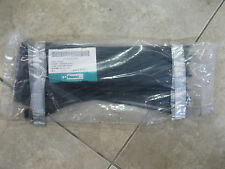 "PANDUIT Marker Tie Wrap, 14.6"" PART# PLM4S-D0 BLACK 100 PCS."