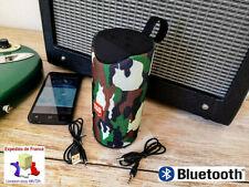 ENCEINTE BLUETOOTH 2X5W POUR TÉLÉPHONE  SMARPHONE TOUTE MARQUE+ FONCTION RADIOFM