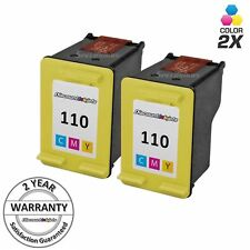 2 HP 110 CB304AN COLOR ink Cartridge for Photosmart A646 A310 A516 A526 A626 826