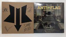 Anti-Flag - American Fall Vinyl Record LP With Bonus Signed Screen Printed Cover