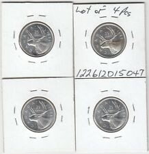 CANADA 1968 25 cent silver  x 4 PROOF LIKE