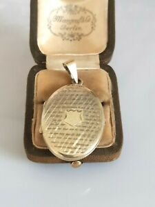 Wunderschönes antikes Medaillon Silber 835 vergoldet, edles Design