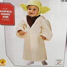 Baby Yoda Costume Toddler Star Wars Halloween Fancy Dress-Up