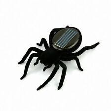 Educational Solar Powered Spider Robot Toy Gadget Gift LW
