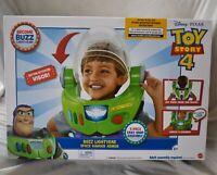 Disney Toy Story 4 Buzz Lightyear Space Ranger Armor Helmet Lights Sound Costume