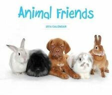 Animal Friends 2018 Square Wall Calendar 30 X 30cm by Paper Pocket Post