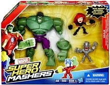 Super Hero Mashers Hulk Smash Force Figure Set [Micro Ultron & Black Widow]