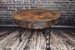 Dark Brown Oak Coffee Table