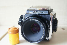 Bronica S2A with Nikkor-PC 1:2.8 f=75mm