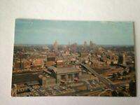 Vintage Postcard Union Station Skyline Kansas City Missouri     M1