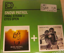 2 for 1 CD Album NEU OVP : Final Straw / Eyes Open von Snow Patrol (2009)
