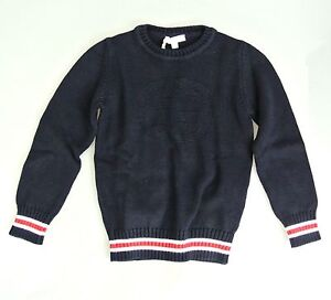 New Authentic Gucci Long Sleeve Crew-Neck Sweater w/Interlocking G, 2, 270693
