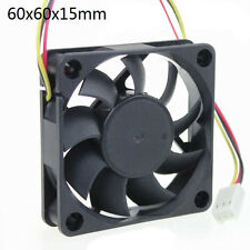 12V 60mm 6cm 3 pin pc raffreddamento Cooler Ventilatore Cuscinetto a sfere