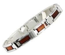 Tungsten Carbide Koa Wood Bracelets TUB8001