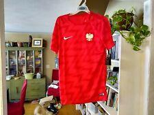 Nike Poland Polska Dri Fit Soccer Jersey Men's Size Small
