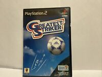 PS2 GREATEST STRIKER Sony PlayStation 2 Video Game Import JAPAN US SELLER
