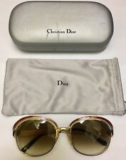 CHRISTIAN DIOR VINTAGE SUNGLASSES 2037 CoI 43 54x19 wi NEW LENSES!! ALMOST NEW!!