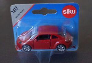 SIKU 1417 - VW THE BEETLE rouge - sous blister