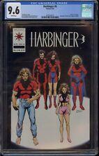 HARBINGER #6 CGC 9.6 DEATH of TORQUE 1992 HAS COUPON  VALIANT  COMIC KINGS