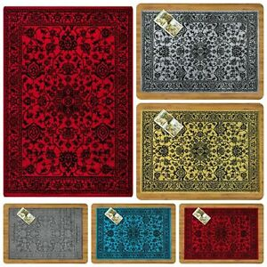 ISABELL Area Rugs Large Small Carpets Runner for Living Room Bedroom Floor Mats