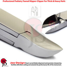 Podiatry Toe Nail Clippers Thick Nails Ingrown Toenail Nipper Cutter Pedicure
