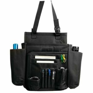 Uncle Mike's Side-Armor Car Seat Organizer Black Police Vehicle Fire EMS 53561
