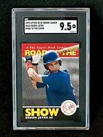 1995 Upper Deck Minors #165 Derek Jeter Road To The Show SGC 9.5
