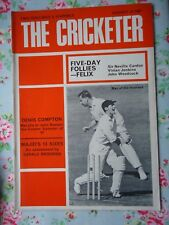 The Cricketer August 25 1967 Cricket Magazine
