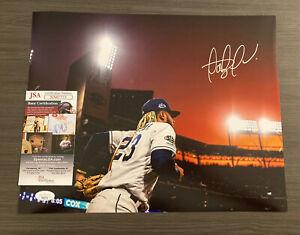 Fernando Tatis Jr Signed 11x14 Photo Autographed Auto Sky / SD Padres JSA COA