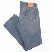 Vintage LEVI'S 559 Relaxed Straight Fit Mens Blue Jeans W34 L34