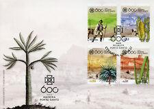 Portugal 2018 FDC Madeira Porto Santo 600 Yrs 4v Cover Plants Trees Cows Stamps