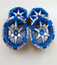 Hercules Rock Crawler Parts 1.9 inch Emulation Wheel D For 1/10  RC Cars Blue