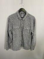 LEVI'S COMMUTER Shirt - Size XL - Grey - Great Condition - Men's