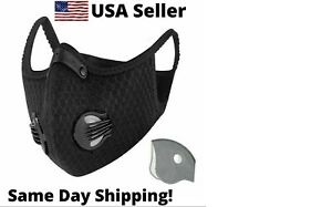 K95  RockBros Cycling Outdoor Sports Face Mask-4 Extra Filters -FAST 4 DAY SHIP