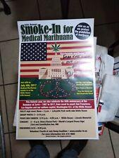 Very rare 47th Smoke-In July 4 2017 signed Richard Eastman Gay Marijuana advocat