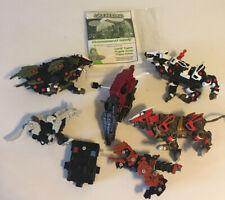 Vintage Zoids Lot Of 5 Tomy / Hasbro Toys Incomplete