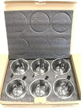 Set of 6 DESIGN MASTER Double Wall 12oz 350ml Glass Drinking Glasses Boxed -F13