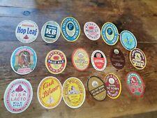 More details for set 2 :18 collectable beer bottle labels