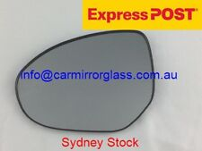 LEFT PASSENGER SIDE MAZDA 2 2008-2014 MIRROR GLASS WITH BASE