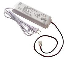 MEKO 17065 Commercial Electric 60-Watt 12-Volt LED Lighting Power Supply White