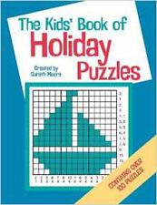 The Kids' Book Of Holiday Puzzles, New, Nowak, Ellen, Moore, Gareth Book