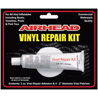 Airhead Vinyl Repair Patch Adhesive Kit Inflatable Towable Boats Tubes Pool Toys