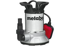 Metabo Flachsaugende Klarwasser-Tauchpumpe Pumpe TPF 6600 SN Edelstahl Neuware