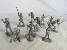 1/32 AMERICAN Frontier Family toy soldiers Marx reissues 10 - Gray
