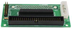 PTC SCA 80 Pin to 68 50 Pin SCSI Adapter