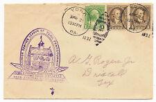 US 1932 Event Cover Junior Service League of York Pennsylvania Adm. Byrd
