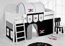 Bettgestelle ohne Matratze mit Piraten-Motiv für Kinder